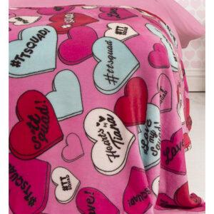 hearts_by_tiana_chic_fleece_blanket