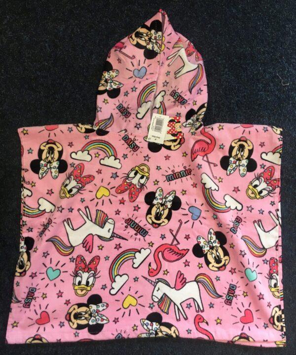 Sprinkle hooded poncho