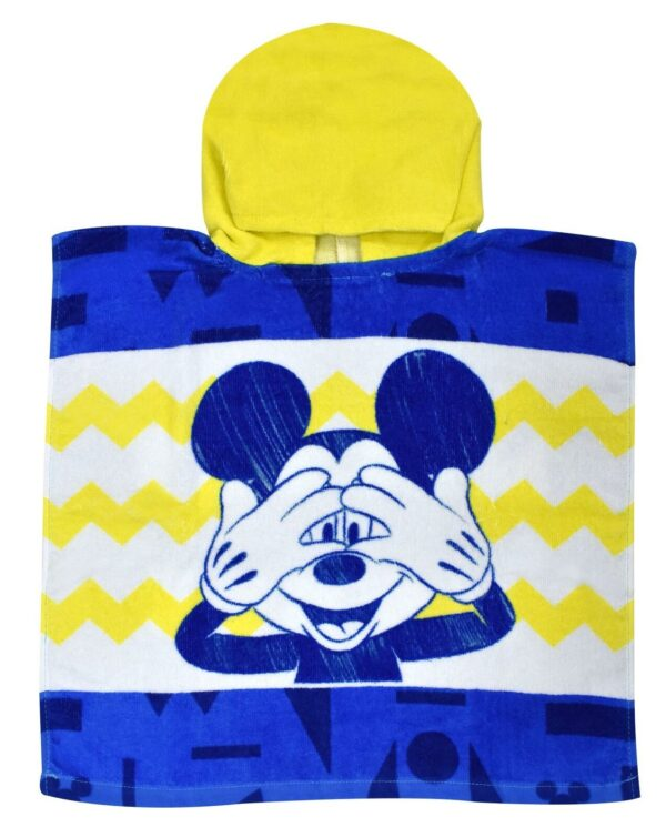 Mickey Mouse Hooded Poncho