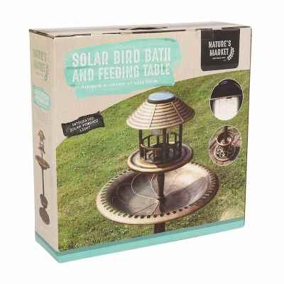 solar bird table 1