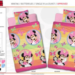 Minnie Mouse Butterflies