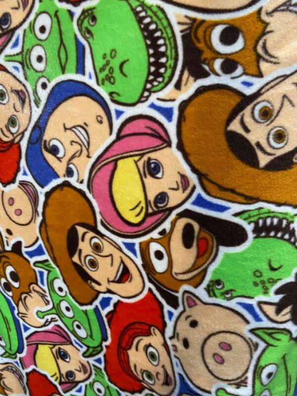 Toy Story Faces Fleece Blanket Throw