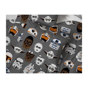 Disney Star Wars Icons Duvet Pillowcase Set Single