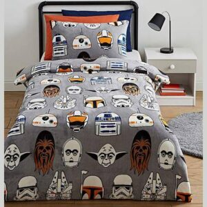 Disney Star Wars Icons Duvet & Pillowcase Set Single