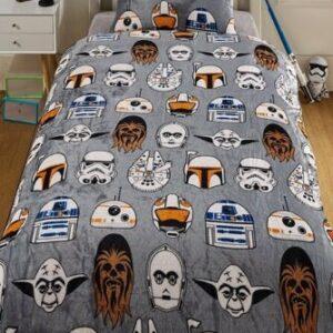 Star Wars icons Duvet & Pillowcase Set Single